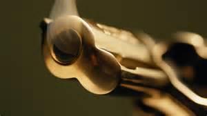 Barrel Revolver Smoke