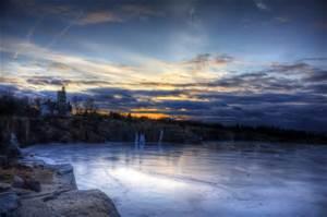 Lake Froze n Morning